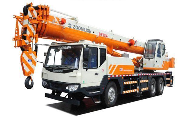 Cẩu bánh lốp Zoomlion QY25V trọng tải 25 tấn