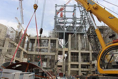 Dự án Nhà máy xi măng Xuân Thành năm 2017