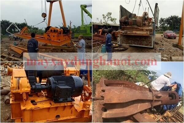 Công ty TNHH Hanoi Vietnam bán máy khoan đập cáp