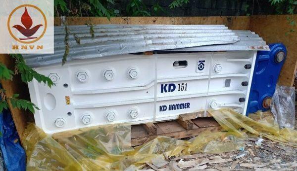 Búa phá đá thủy lực Hàn Quốc KD151