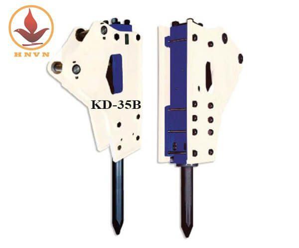 Búa phá đá thủy lực Hàn Quốc KD-35B