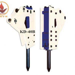 Búa phá đá thủy lực Hàn Quốc KD-40B