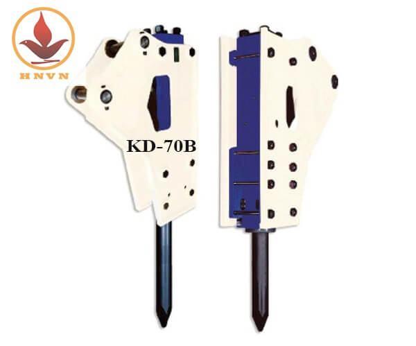Búa phá đá thủy lực Hàn Quốc KD-70B