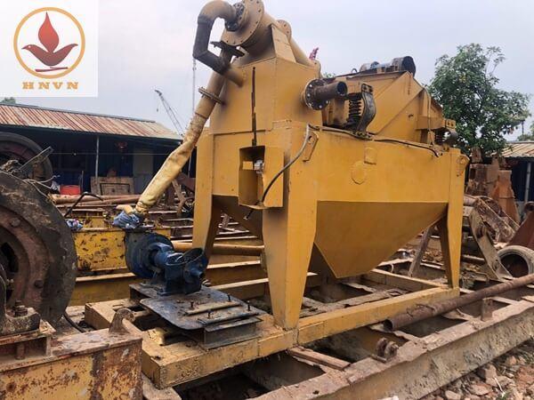 Bán máy sàng cát cho một công ty tại Cao Bằng