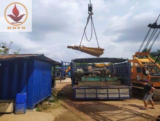 Dàn giã đá JK6 thi công dự án cầu vượt Mai Sơn, Ninh Bình-1