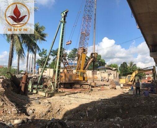 Dàn giã đá JK6 thi công dự án cầu vượt Mai Sơn, Ninh Bình-2