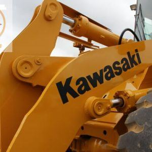 Máy xúc lật Kawasaki 70ZV-2 gầu 2.7m3-4