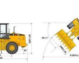 Máy xúc lật LiuGong CLG836 gầu 1.7m3-3