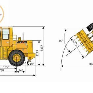 Máy xúc lật LiuGong ZL40B gầu 2.2m3-4