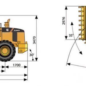 Máy xúc lật LiuGong ZL50CN gầu 3m3-4
