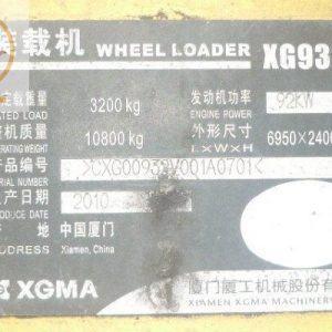 Máy xúc lật XG932III gầu 2m3-2