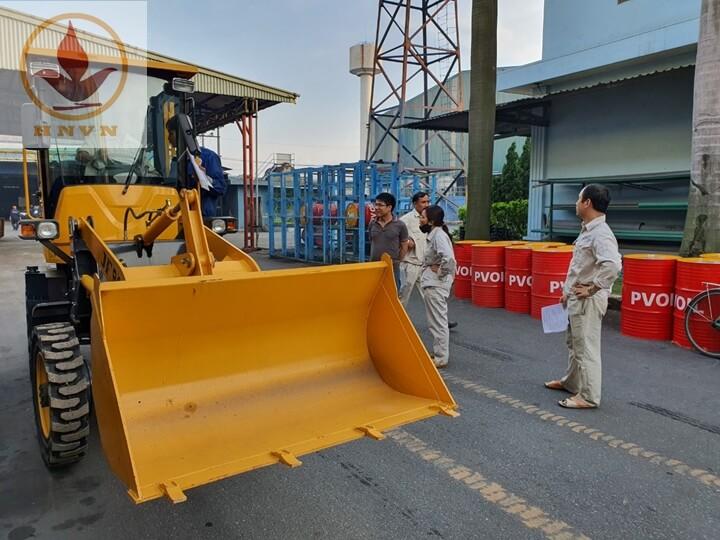 Bàn giao máy xúc lật JF910 cho nhà máy thép Hòa Phát, Hưng Yên-3
