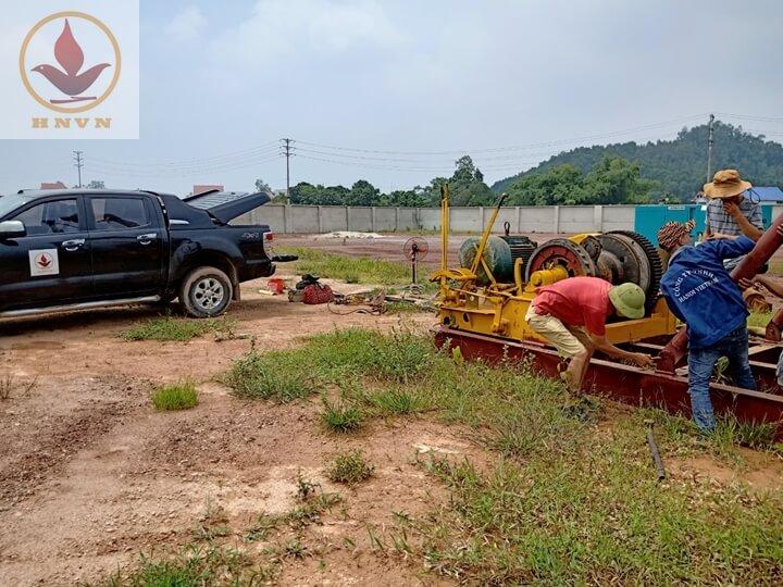 Dự án thi công giếng giảm áp cho nhà máy sản xuất thép - Thái Nguyên-1