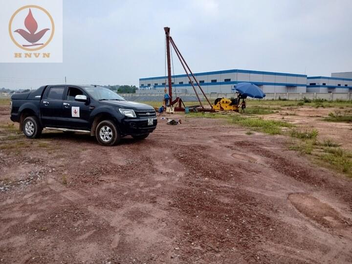 Dự án thi công giếng giảm áp cho nhà máy sản xuất thép - Thái Nguyên-2