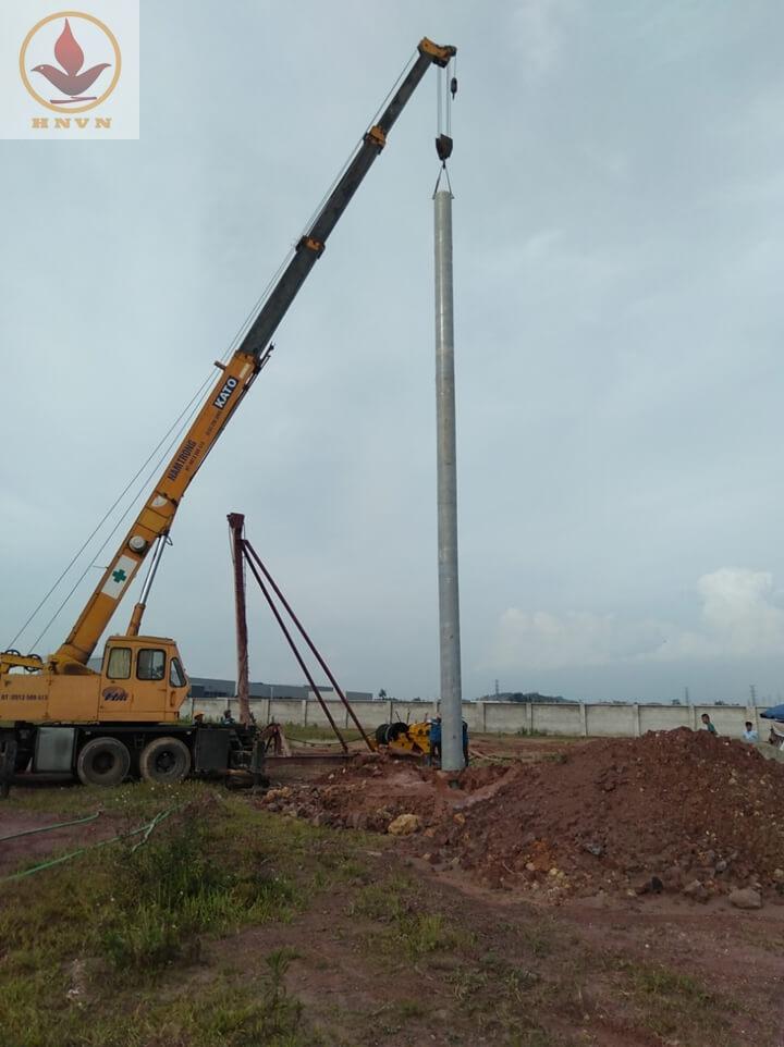 Dự án thi công giếng giảm áp cho nhà máy sản xuất thép - Thái Nguyên-4