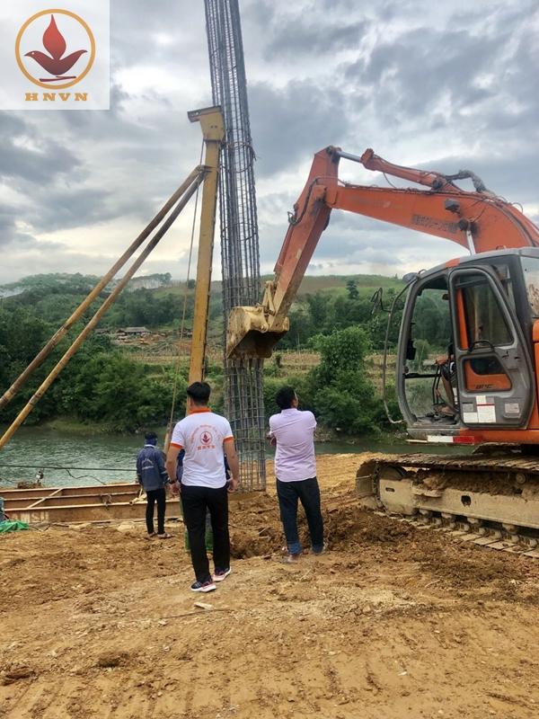 Thi công xây dựng cầu Chiềng Nhỏ-1