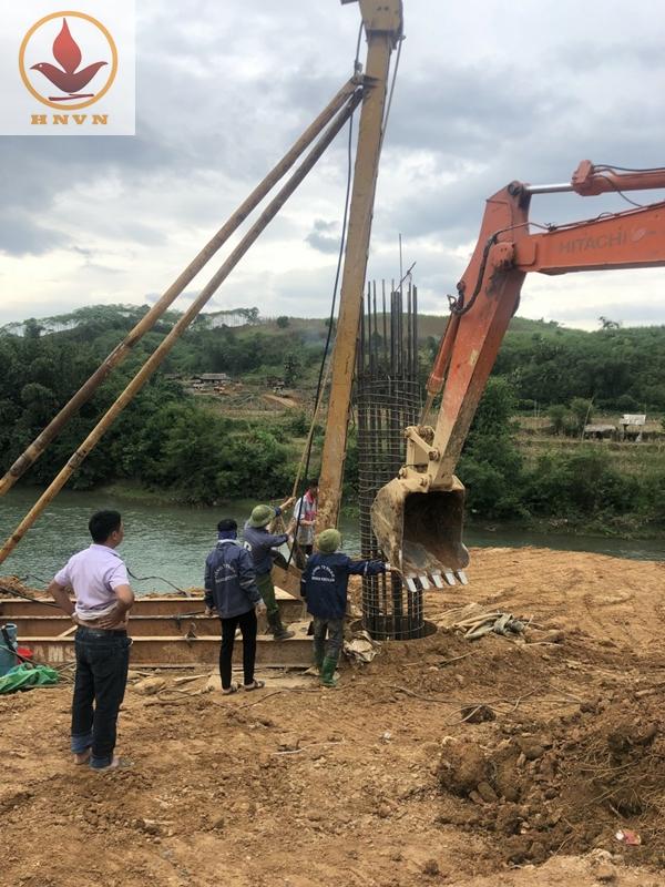 Thi công xây dựng cầu Chiềng Nhỏ-5