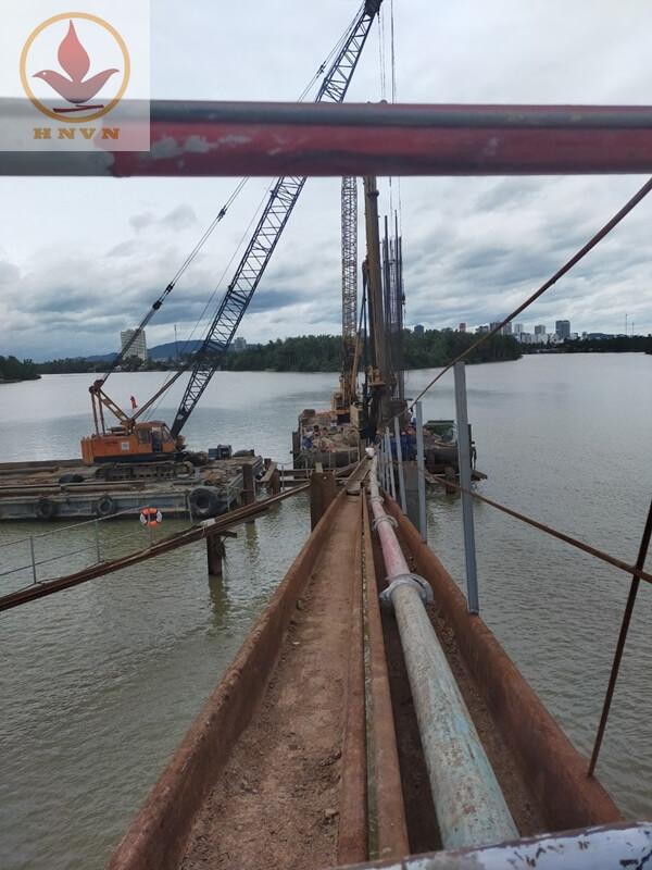 Công trình Đập ngăn mặn (cầu vượt sông cái) tỉnh Khánh Hòa-3