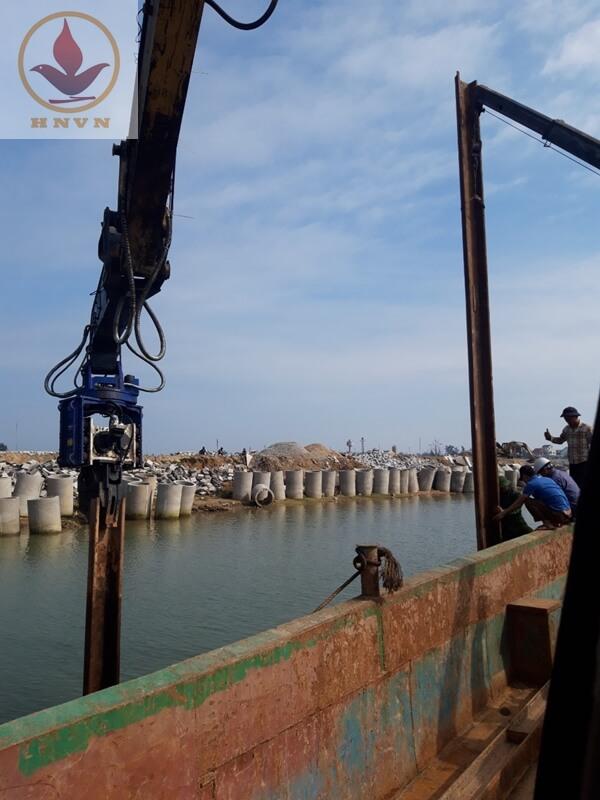 Dự án Khu neo đậu tránh trú bão cho tàu cá Cửa Hội- Xuân Phổ tỉnh Hà Tĩnh