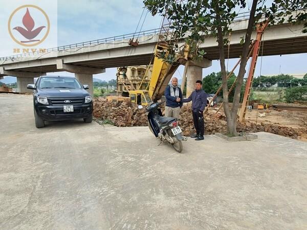 Thi công cọc khoan nhồi cầu vượt Mai Sơn Ninh Bình (Km265+090 - Km273+125)-2