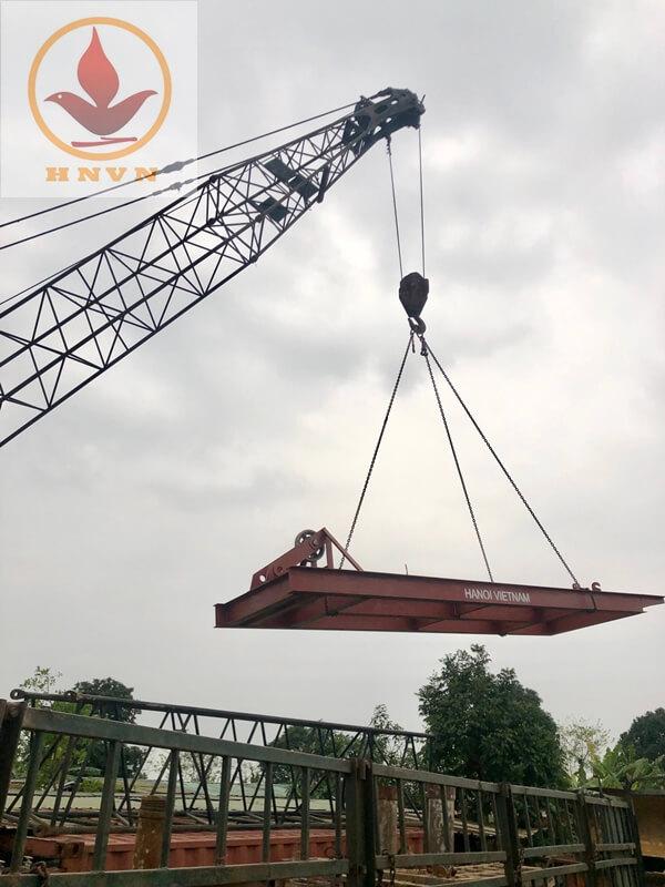 Chuyển máy đi công trường Mai Sơn - QL45-1