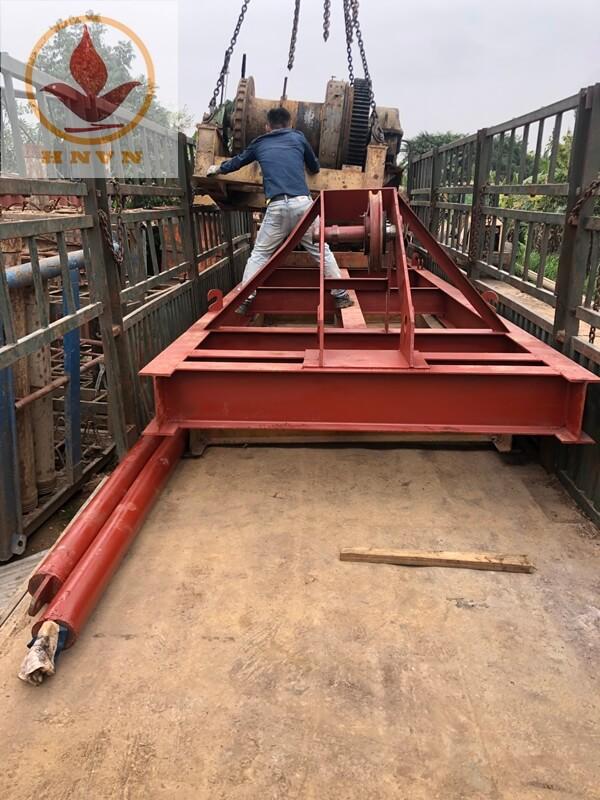 Chuyển máy đi công trường Mai Sơn - QL45-2