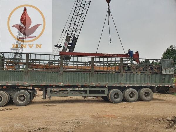 Chuyển máy đi công trường Mai Sơn - QL45-3
