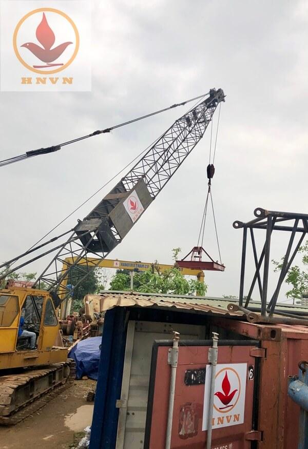 Chuyển máy đi công trường Mai Sơn - QL45